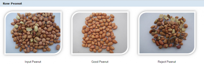 Peanut color sorting
