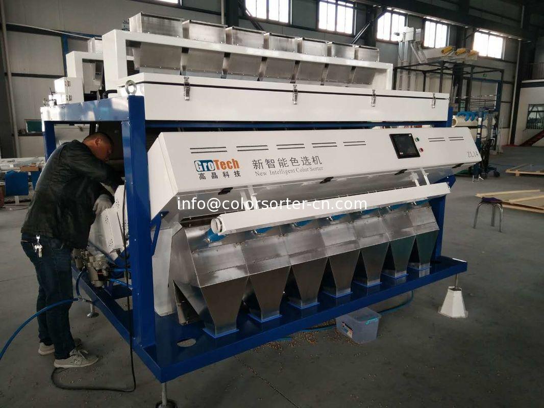 lentil color sorter machine from China manufacturer,Ultimate full color RGB camera