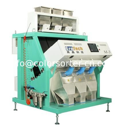China rice color sorting machine ultimate Rice Sorting Technology