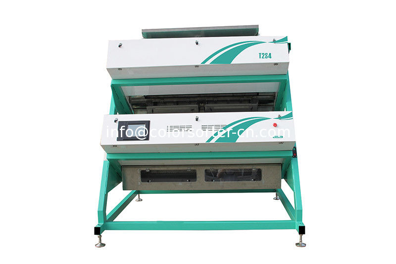 mini tea color sorter machine,has great performance in sorting tea leaf by color and shape