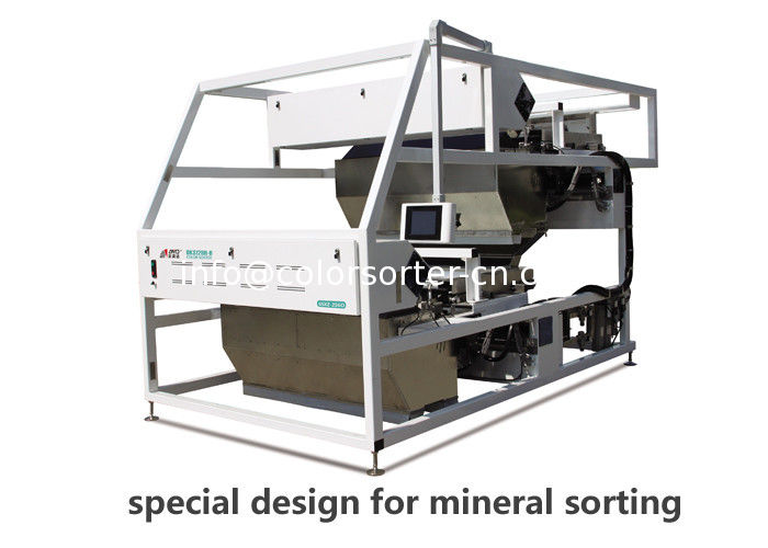 Mineral color sorter machine,mineral color sorting machine