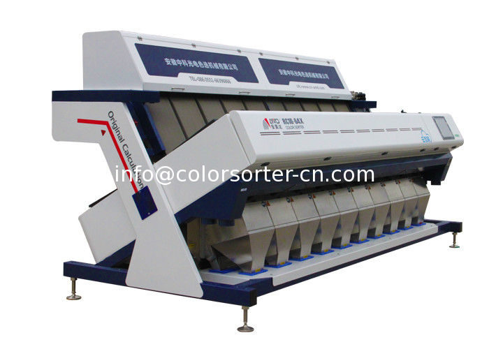 CCD Rice Colour Sorter Machine,Maquinaria del compaginador del color del arroz blanco