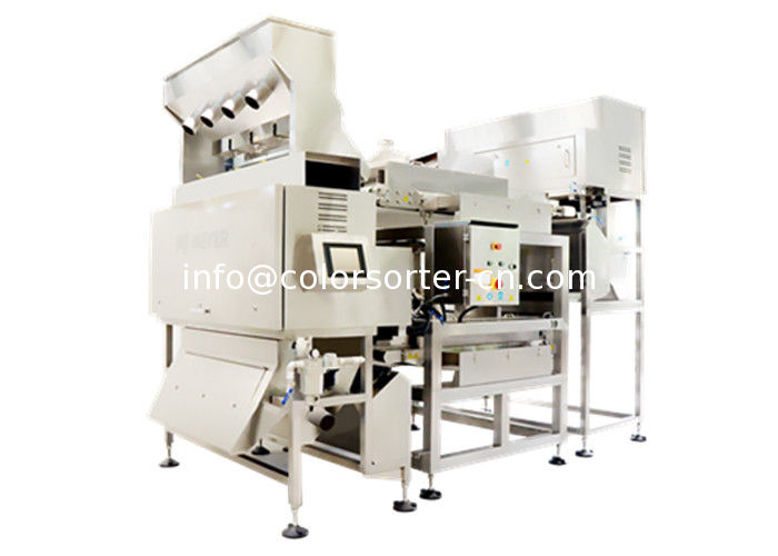 CCD Color Sorter for cashew nuts ,belt color sorting machine sort by color and shape.