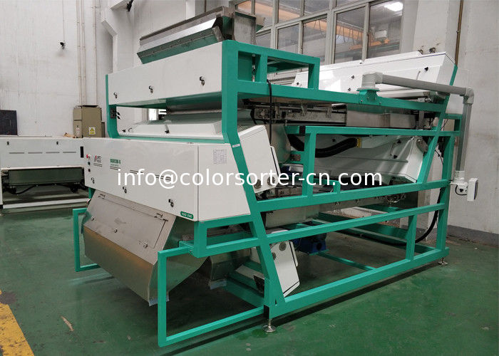 CCD Color Sorter for seafood, belt color sorting machine sort by color and shape.