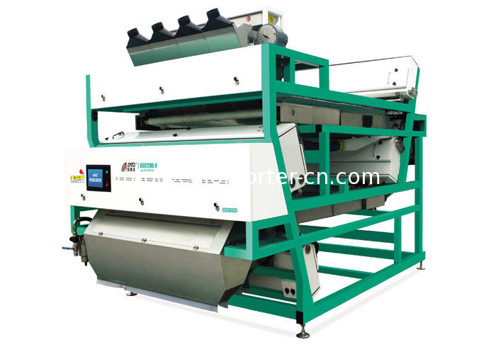belt color sorter for sorting shrimp,Intelligent Automation,Multi-Function,through Multi-Chromatic Camera Scan,
