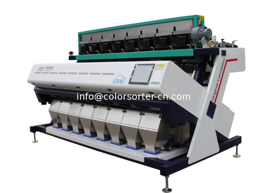 Sesame Seeds Color Sorter Machine ,Textured and adjustable LED light resource, longer lifespan and better performance