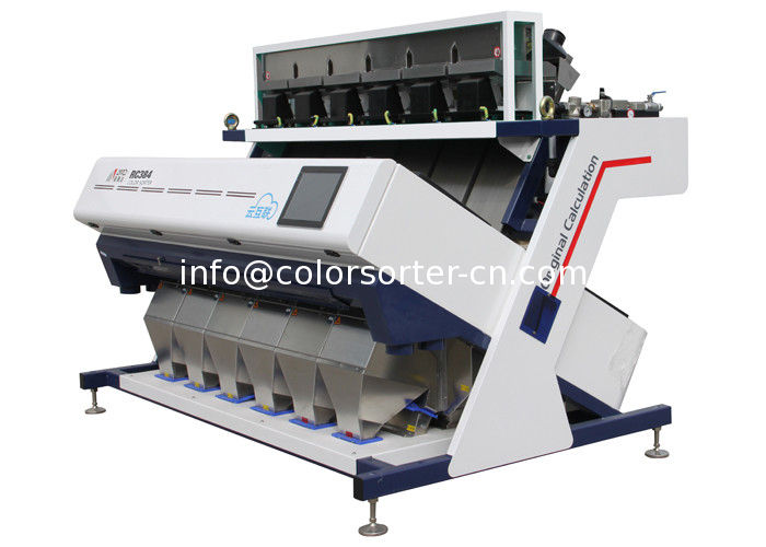 Optical sorting machine for plastic flake,virgin plastic pellet sorting,sorting of virgin plastics