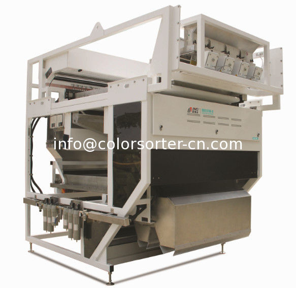 ore sorting equipment,suitable for wet mineral,mineral optical sorter machine,rock color sorter
