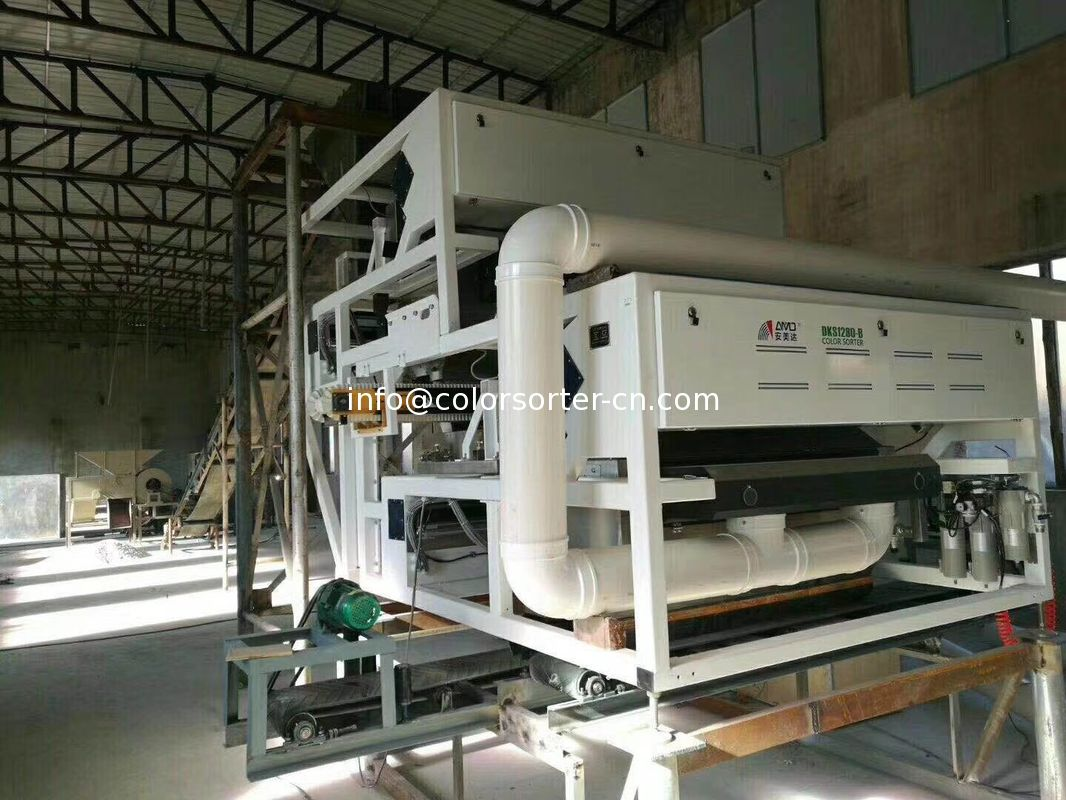 mineral optical color sorting machine for quartz,feldspar,Kaolin ,barite
