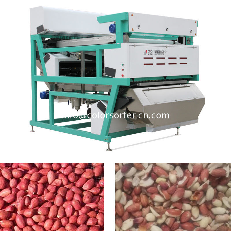Optical Sorting Machine for peanuts.China manufacturer of color sorter machine for selecting peanuts