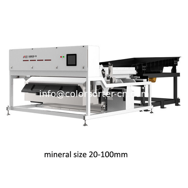 ore sorter,China stone optical separator machine,suitable for 2-10 cm size