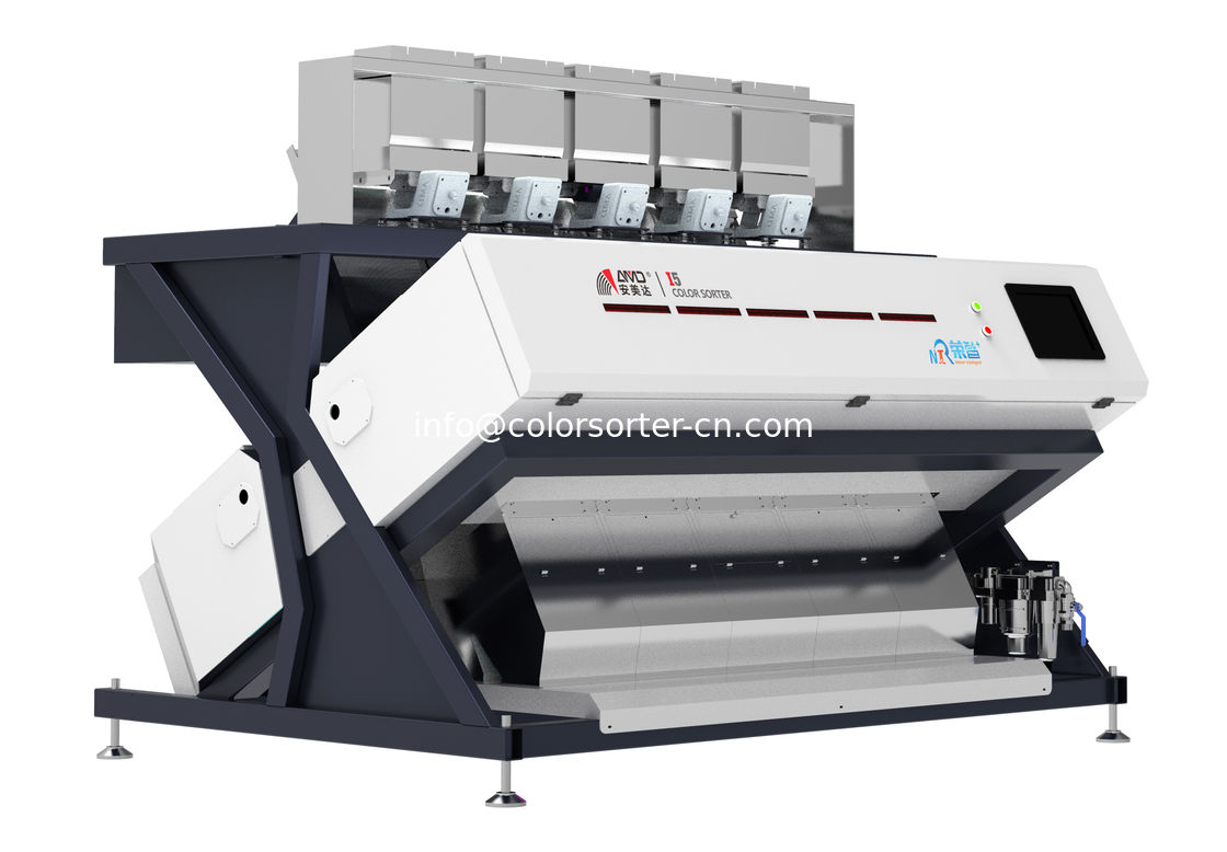 Walnuts Sorting Machine.Infrared Optical Sorter Machine.RGB with infrared cameras
