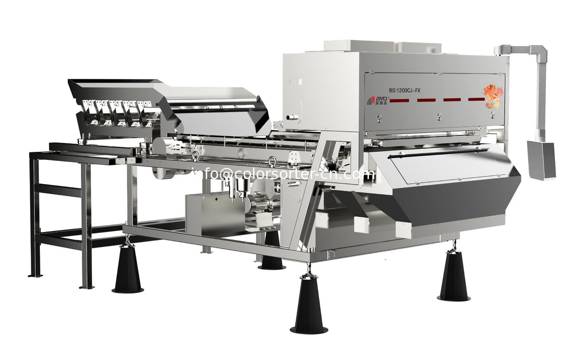Optical Sorter Machine With InGaAs Function,Infrared Optical Sorting Machine For Walnuts And Pecan Nuts