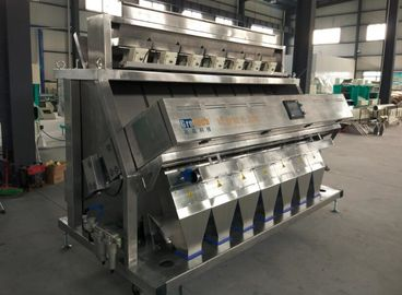 Color Sorter machine for salt,the machine structure is made of stainless steel