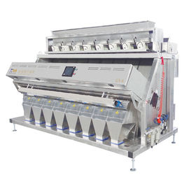 Color sorting for salt,optical sorting solution to remove stone and discolor sorter