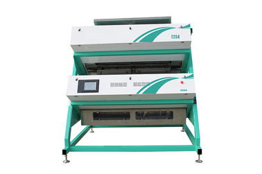 China mini tea color sorter machine,has great performance in sorting tea leaf by color and shape factory