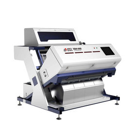 Infrared sorting machine sort the plastic by material type ,to solve problem of plastic with same color